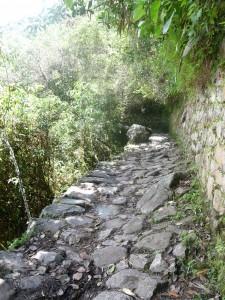 印加足迹到马丘比丘
