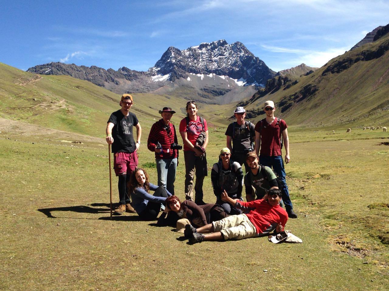 在秘鲁旅游